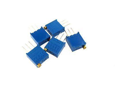 100 Ohm 3296 Trimmer Potentiometer Pot Resistor - Pack Of 10