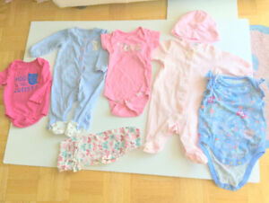 Baby Girl Cute Clothes (3-6 m.) (7 = $1.50 ea.) Jumpers, Pants