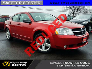 2009 Dodge Avenger SXT | 160Km | SAFETY & E-TESTED