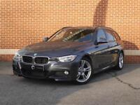 2013 63 BMW 3 Series 2.0 320D BluePerformance M Sport Touring 5dr (Diesel, Grey)