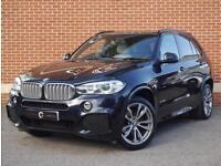 2014 14 BMW X5 3.0 40d M Sport xDrive 5dr (Blue, Diesel)