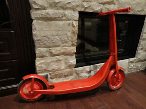 Vintage Radio Flyer All Metal Scooter -repainted But Great Shape Kitchener / Waterloo Kitchener Area image 10