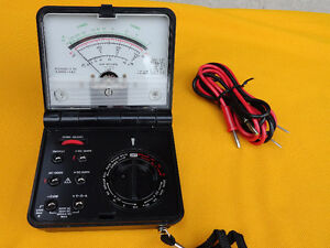 "Vintage ""Micronta"" Multimeter 22-211A W/Leads"