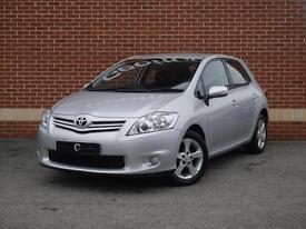 2010 10 Toyota Auris 1.33 VVT-i TR 5dr (Silver, Petrol)
