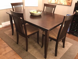Canadel Solid Birch Dining Table