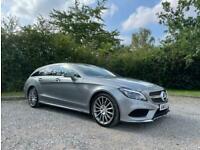 2015 Mercedes-Benz CLS 2.1 CLS220 CDi BlueTEC AMG Line Shooting Brake G-Tronic+
