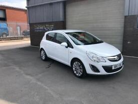 2013 VAUXHALL CORSA 1.2i SE ONLY 25500 MILES WARRANTED