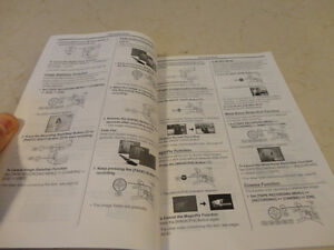 Owners Manual for Panasonic Camcorder PV-GS9, PV-GS13, PV-GS15 Kitchener / Waterloo Kitchener Area image 2