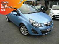 2013 Vauxhall Corsa 1.2i 16v Energy - Blue - Platinum Warranty!