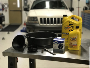 Home oil changes