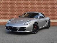 2010 60 Porsche Cayman 3.4 987 S 2dr (Grey, Petrol)
