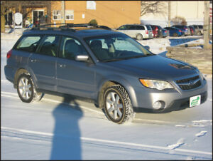 2008 Subaru Outback $8,849 + hst or $242 monthly