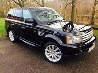 2008 Land Rover Range Rover Sport 3.6 TD V8 HSE SUV 5dr Diesel Automatic