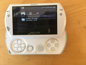 Psp go great condition with games