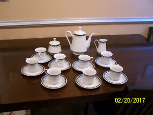 fine china evening tea set