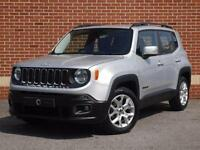2016 16 Jeep Renegade 1.4 Multi Air II Longitude 5dr (Silver, Petrol)