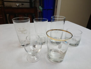 Vintage Medley of glasses.