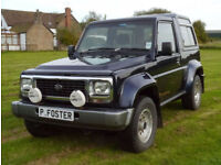 Daihatsu Fourtrak 2.8TDL Limited