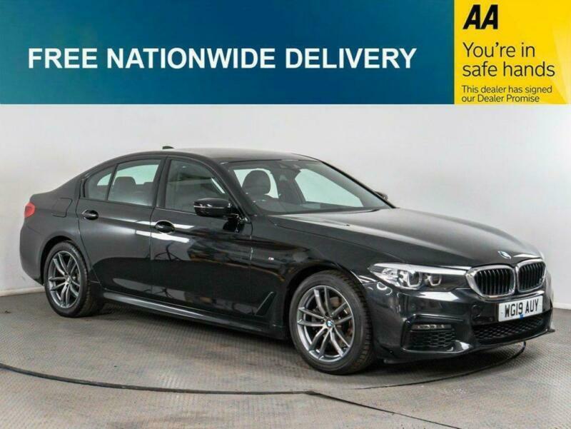 2019 BMW 5 Series 2.0 520I M SPORT 4d AUTO 181 BHP Saloon Petrol Automatic