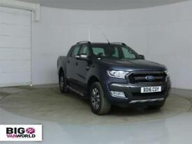 2016 FORD RANGER WILDTRAK TDCI 200 4X4 DOUBLE CAB WITH ROLL'N'LOCK TOP PICK UP D