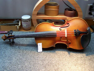 Violin, Copy of Stradivarius, style 1713.