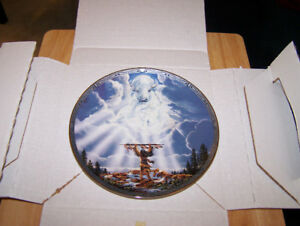 Bradford Exchange Collector Plate-MYSTIC SPIRIT