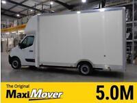 2015 (65) Vauxhall Movano XXLWB 5.0M Maxi Mover Low Floor / Low Loader Luton Van