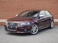 2011 11 Audi S3 2.0 TFSI Tronic Quattro 3dr (Purple, Petrol)