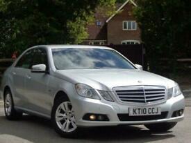 image for 2010 Mercedes-Benz E200 CDI BLUEEFFICIENCY SE Auto Saloon Diesel Automatic