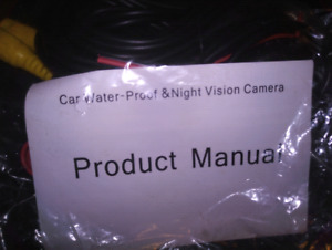 New Backup Camera with Nightvision!