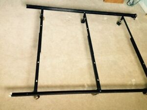 Iron Bed Frame Heavy-Duty - Twin, Double or Queen Size