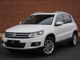 2012 62 Volkswagen Tiguan 2.0TDI ( 170ps ) 4Motion Sport (White, Diesel)