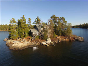 Private Island Vacation Rental, Lake of the Woods, Ontario