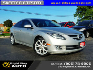 2009 Mazda Mazda6 GT | LOW KMS | SAFETY & E-TESTED