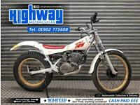 1987 Yamaha TY 250 Road Legal Classic Two Stroke Trails Bike with MOT