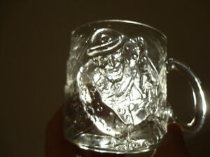 Three Glass Sculpted 3D Collectible Mugs - Batman McDonalds Mugs Kitchener / Waterloo Kitchener Area image 7