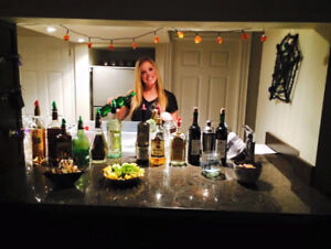 BARTENDERS/SERVERS AVAILABLE FOR YOUR HALLOWEEN PARTY!