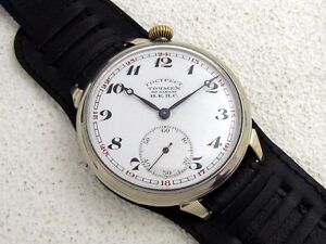 HENRY-MOSER-Cie-NKPS-USSR-ANTIQUE-IWC-SCHAFFHAUSEN-SWISS-ORIGINAL-MENS ...
