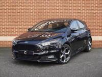 2015 15 Ford Focus 2.0 TDCi ST-3 Hatchback 5dr (Black, Diesel)