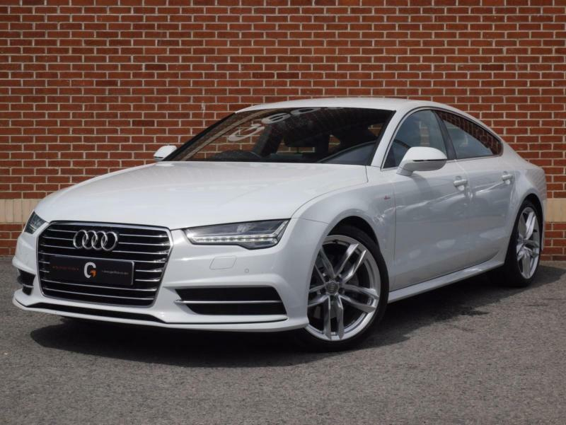 2015 15 audi a7 3 0 tdi s line ultra sportback s tronic white diesel in ripley derbyshire. Black Bedroom Furniture Sets. Home Design Ideas