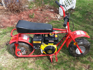 Dirt Bug mini bike. Brand new 6.5 HP engine and brand new clutch