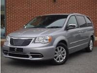 2013 13 Chrysler Grand Voyager 2.8 CRD Limited 5dr (Silver, Diesel)