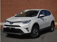 2015 65 Toyota Rav 4 2.5 Buisness Edition Plus E-CVT 5dr (White, Petrol Hybrid)