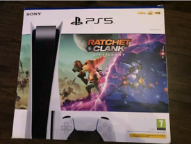BRAND NEW SEALED SONY PS5 DISC 825GB DISC VERSION RATCHET CLANK BUNDLE