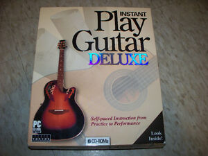 Instant Play Guitar Deluxe:  6 CDs. Missing CD#3.