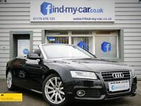 2009 09 Audi A5 2.0 TFSI 211 BHP S Line Cabriolet with Air Scarf