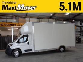 Peugeot Maxi Mover 5.1M(16ft 8) JumboMAX x 2.7M Low Loader / Low Floor Luton Van