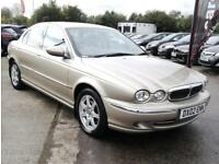 2002 JAGUAR X-TYPE V6 2.1 PETROL MANUAL LONG MOT 4DR 157 BHP
