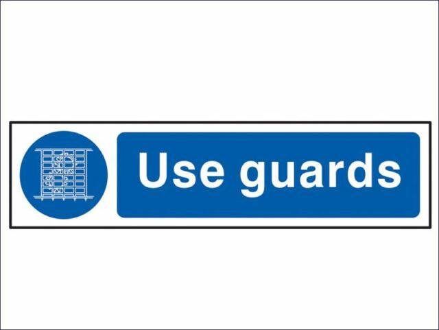 Scan - Use Guards - PVC 200 x 50mm