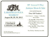 28th Antique and Collectible Show - Lakefield Flea Market